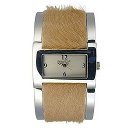 Kenneth Cole Faux Hide watch